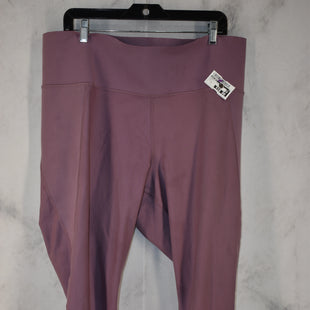 Primary Photo - BRAND: OLD NAVY STYLE: ATHLETIC PANTS COLOR: PURPLE SIZE: 2X SKU: 186-186199-458