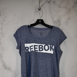 Primary Photo - BRAND: REEBOK STYLE: ATHLETIC TOP SHORT SLEEVE COLOR: PURPLE SIZE: M SKU: 186-186217-6793