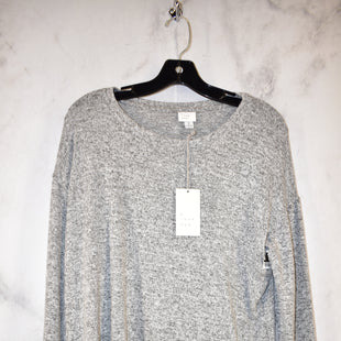 Primary Photo - BRAND: A NEW DAY STYLE: TOP LONG SLEEVE COLOR: GREY SIZE: M SKU: 186-186213-2940
