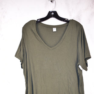 Primary Photo - BRAND: OLD NAVY STYLE: TOP SHORT SLEEVE BASIC COLOR: OLIVE SIZE: XL SKU: 186-186217-2972
