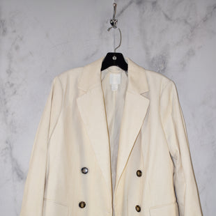 Primary Photo - BRAND: H&M STYLE: BLAZER JACKET COLOR: CREAM SIZE: 12 SKU: 186-186167-27877
