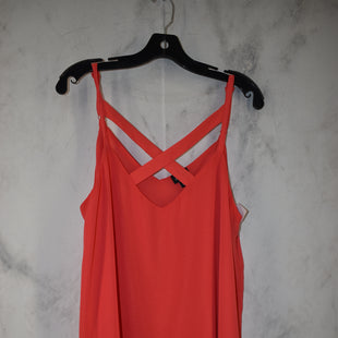 Primary Photo - BRAND: TORRID STYLE: TOP SLEEVELESS COLOR: RED SIZE: 0 OTHER INFO: LARGE SKU: 186-186167-30110
