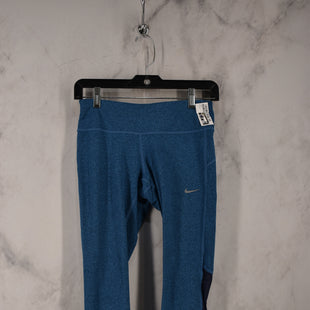 Primary Photo - BRAND: NIKE APPAREL STYLE: ATHLETIC CAPRIS COLOR: BLUE SIZE: S SKU: 186-186217-7635