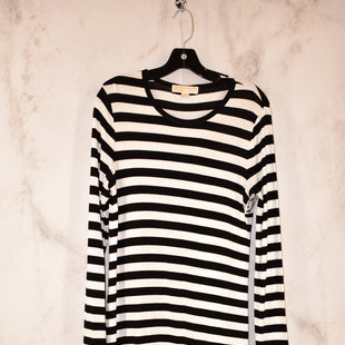 Primary Photo - BRAND: MICHAEL BY MICHAEL KORS STYLE: DRESS SHORT LONG SLEEVE COLOR: STRIPED SIZE: S SKU: 186-186106-7790