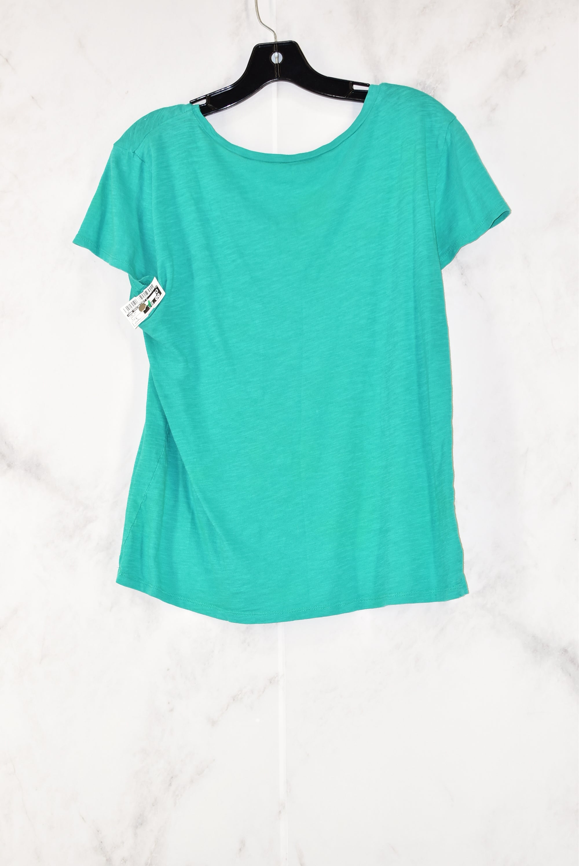 Photo #1 - BRAND: ANN TAYLOR LOFT O<BR>STYLE: TOP SHORT SLEEVE<BR>COLOR: GREEN<BR>SIZE: S<BR>SKU: 186-186104-10988