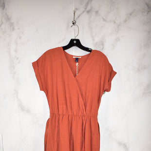 Primary Photo - BRAND: UNIVERSAL THREAD STYLE: DRESS LONG SHORT SLEEVE COLOR: ORANGE SIZE: XS OTHER INFO: NEW! SKU: 186-186217-3525