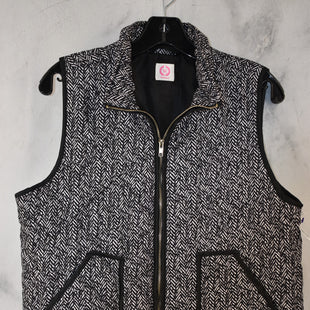 Primary Photo - BRAND: WANNA B STYLE: VEST COLOR: BLACK WHITE SIZE: L SKU: 186-186106-12099