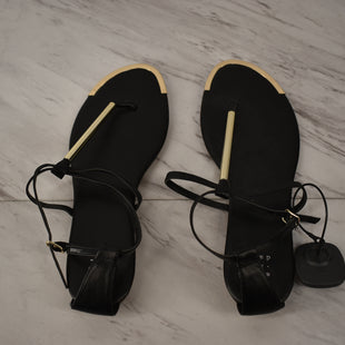 Primary Photo - BRAND: A NEW DAY STYLE: SANDALS FLAT COLOR: BLACK SIZE: 9 SKU: 186-186106-12121