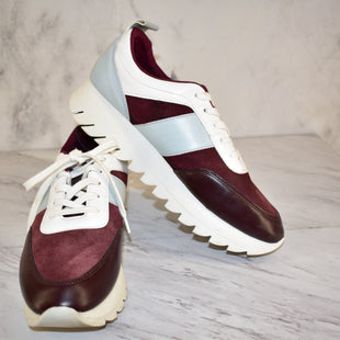 Primary Photo - BRAND: ZARA WOMEN STYLE: SHOES ATHLETIC COLOR: MAROON SIZE: 9 OTHER INFO: ZARA TRAFALUC- SZ 40 SKU: 186-186106-10023