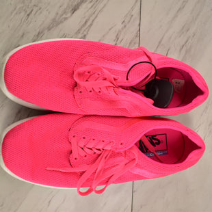 Primary Photo - BRAND: VANS STYLE: SHOES ATHLETIC COLOR: HOT PINK SIZE: 8.5 SKU: 186-186167-26047