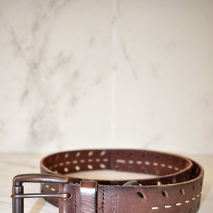 Primary Photo - BRAND: FOSSIL STYLE: BELT COLOR: BROWN SIZE: M SKU: 186-186167-24520