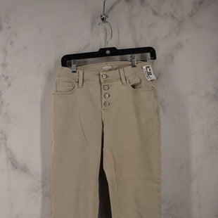 Primary Photo - BRAND: OLD NAVY STYLE: PANTS COLOR: BEIGE SIZE: 0 SKU: 186-186167-30793