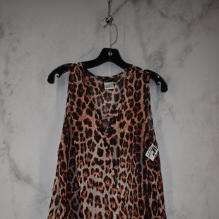 Primary Photo - BRAND:    CLOTHES MENTOR STYLE: TOP SLEEVELESS COLOR: ANIMAL PRINT SIZE: 1X SKU: 186-186167-30113