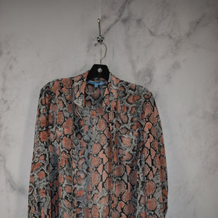 Primary Photo - BRAND: ANTONIO MELANI STYLE: TOP LONG SLEEVE COLOR: SNAKESKIN PRINT SIZE: M SKU: 186-186167-30829