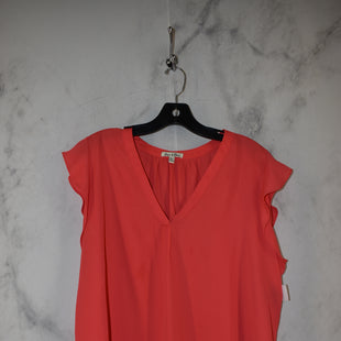 Primary Photo - BRAND:    CLOTHES MENTOR STYLE: TOP SLEEVELESS COLOR: RED SIZE: XL OTHER INFO: EMMA & OIVIA - SKU: 186-186217-7136