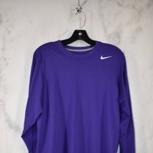 Primary Photo - BRAND: NIKE APPAREL STYLE: ATHLETIC TOP COLOR: PURPLE SIZE: S SKU: 186-186217-7585