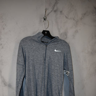 Primary Photo - BRAND: NIKE STYLE: ATHLETIC TOP COLOR: SLATE BLUE SIZE: S SKU: 186-186106-11855