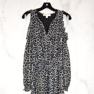 Primary Photo - BRAND: MICHAEL BY MICHAEL KORS STYLE: DRESS SHORT LONG SLEEVE COLOR: ANIMAL PRINT SIZE: XS SKU: 186-186213-8239