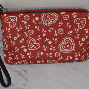 Primary Photo - BRAND: COACH STYLE: WRISTLET COLOR: RED SKU: 186-186106-12081