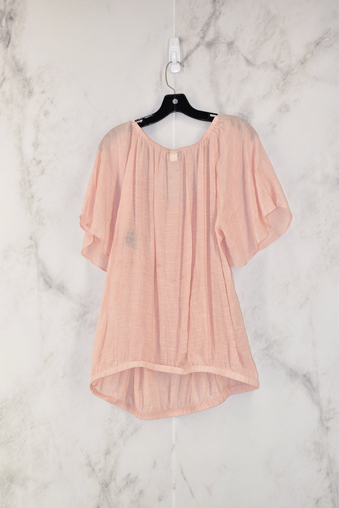 Photo #1 - BRAND: TORRID<BR>STYLE: TOP SHORT SLEEVE<BR>COLOR: DUSTY PINK<BR>SIZE: 2X<BR>SKU: 186-186209-63