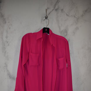 Primary Photo - BRAND: EXPRESS STYLE: TOP LONG SLEEVE COLOR: HOT PINK SIZE: S SKU: 186-186167-30827