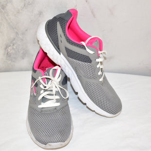 Primary Photo - BRAND: SKECHERS STYLE: SHOES ATHLETIC COLOR: GREY SIZE: 11 OTHER INFO: GOGA RUN SKU: 186-186106-9876
