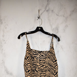 Primary Photo - BRAND: BANANA REPUBLIC STYLE: TOP SLEEVELESS COLOR: ZEBRA PRINT SIZE: M SKU: 186-186213-8281