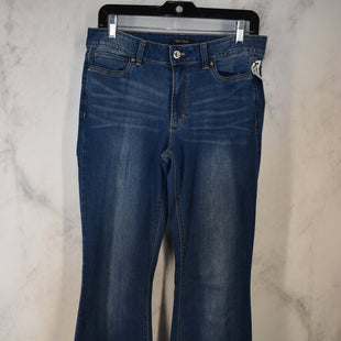 Primary Photo - BRAND: WHITE HOUSE BLACK MARKET STYLE: JEANS COLOR: DENIM SIZE: 8L OTHER INFO: FLARE LEG SKU: 186-186106-11981
