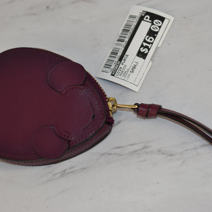 Primary Photo - BRAND: COACH STYLE: COIN PURSE COLOR: MAROON SIZE: SMALL SKU: 186-186106-11729