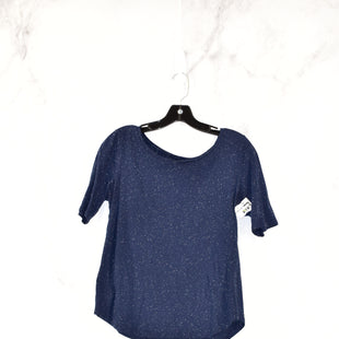 Primary Photo - BRAND: ANN TAYLOR LOFTSTYLE: TOP SHORT SLEEVECOLOR: NAVYSIZE: MSKU: 186-186167-19230