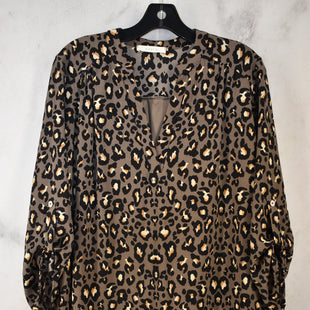 Primary Photo - BRAND: ENTRO STYLE: DRESS SHORT LONG SLEEVE COLOR: ANIMAL PRINT SIZE: M SKU: 186-186106-12113
