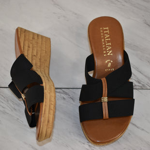 Primary Photo - BRAND: ITALIAN SHOEMAKERS STYLE: SANDALS LOW COLOR: BLACK SIZE: 8 SKU: 186-186167-30892