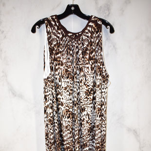 Primary Photo - BRAND: CATO STYLE: DRESS SHORT SLEEVELESS COLOR: ANIMAL PRINT SIZE: 22 SKU: 186-186213-6809