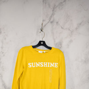 Primary Photo - BRAND: GAP STYLE: SWEATER LIGHTWEIGHT COLOR: YELLOW SIZE: S OTHER INFO: NEW! SKU: 186-186167-27864