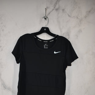 Primary Photo - BRAND: NIKE APPAREL STYLE: ATHLETIC TOP SHORT SLEEVE COLOR: BLACK SIZE: S SKU: 186-186217-7578