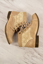 Photo #1 - BRAND: MOSSIMO<BR>STYLE: BOOTS ANKLE<BR>COLOR: TAN<BR>SIZE: 8<BR>SKU: 186-186106-6639
