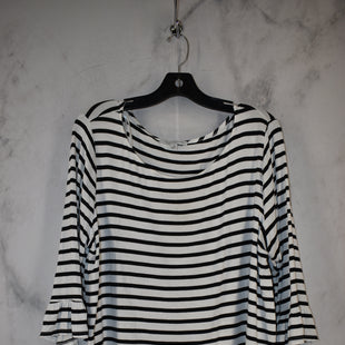 Primary Photo - BRAND: GREEN ENVELOPE STYLE: TOP LONG SLEEVE COLOR: STRIPED SIZE: 1X SKU: 186-186217-7135