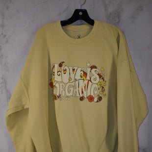 Primary Photo - BRAND: LIFE STYLE: SWEATER LIGHTWEIGHT COLOR: YELLOW SIZE: XXL SKU: 186-186230-36