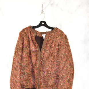 Primary Photo - BRAND: CHICOS STYLE: BLAZER JACKET COLOR: BROWN SIZE: 3 SKU: 186-186179-10459
