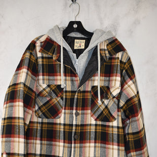 Primary Photo - BRAND:    CLOTHES MENTOR STYLE: JACKET OUTDOOR COLOR: PLAID SIZE: L OTHER INFO: RED HEAD - SKU: 186-186230-56