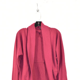 Primary Photo - BRAND: BANANA REPUBLIC STYLE: SWEATER CARDIGAN HEAVYWEIGHT COLOR: MAROON SIZE: S SKU: 186-186213-3152