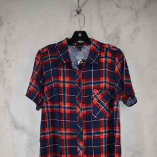 Primary Photo - BRAND: TORRID STYLE: TOP SHORT SLEEVE COLOR: RED BLUE SIZE: M OTHER INFO: 00 SKU: 186-186167-30096