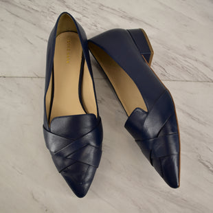 Primary Photo - BRAND: COLE-HAAN STYLE: SHOES FLATS COLOR: NAVY SIZE: 10 SKU: 186-186167-27834