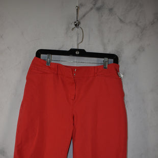 Primary Photo - BRAND: WHITE HOUSE BLACK MARKET STYLE: SHORTS COLOR: RED SIZE: 8 SKU: 186-186217-7721