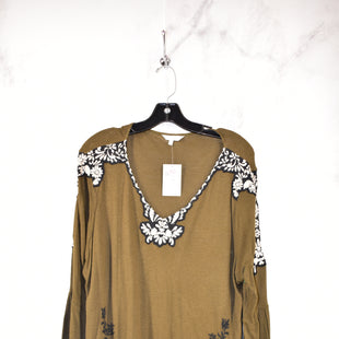 Primary Photo - BRAND: LUCKY BRAND STYLE: TOP LONG SLEEVE COLOR: OLIVE SIZE: 2X SKU: 186-186217-3531