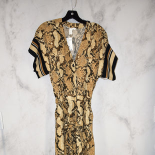 Primary Photo - BRAND: H&M STYLE: DRESS LONG SLEEVELESS COLOR: SNAKESKIN PRINT SIZE: 2 OTHER INFO: JUMPSUIT NWT SKU: 186-186167-27882