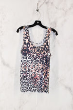 Primary Photo - BRAND:    CLOTHES MENTOR <BR>STYLE: TOP SLEEVELESS <BR>COLOR: ANIMAL PRINT <BR>SIZE: XL <BR>OTHER INFO: JULIAN + NICOLE - <BR>SKU: 186-186213-3438