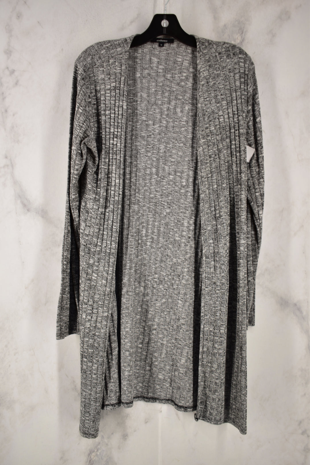 Primary Photo - BRAND: AMBIANCE <BR>STYLE: SWEATER CARDIGAN LIGHTWEIGHT <BR>COLOR: GREY <BR>SIZE: M <BR>SKU: 186-186219-93