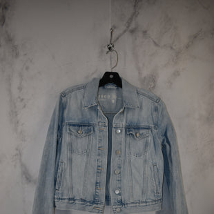 Primary Photo - BRAND: GAP STYLE: JACKET OUTDOOR COLOR: DENIM SIZE: S SKU: 186-186217-7147