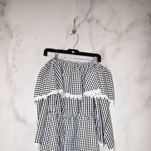 Primary Photo - BRAND:    CLOTHES MENTOR STYLE: DRESS SHORT LONG SLEEVE COLOR: GINGHAM SIZE: 2X SKU: 186-186217-3587